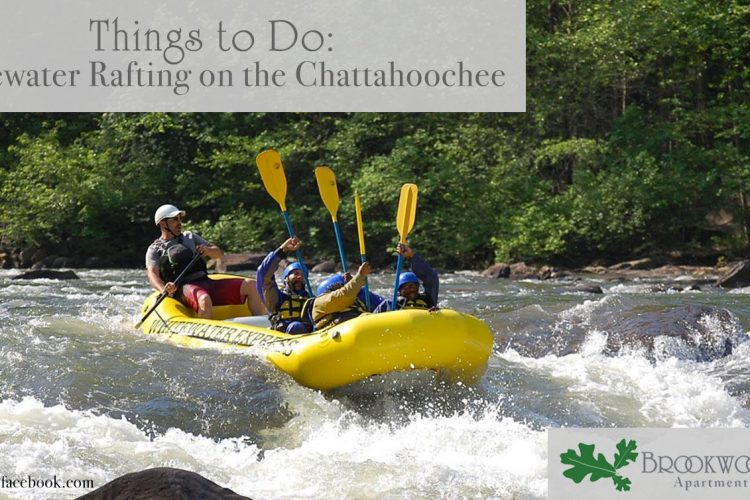 Things to Do: Whitewater Rafting on the Chattahoochee